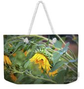 Fading Sunflower Weekender Tote Bag
