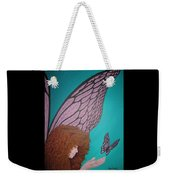 Faerie And Butterfly Weekender Tote Bag