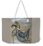 Faery And The Stork - Prints Weekender Tote Bag