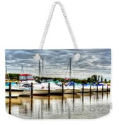 Fah Get A Boat It Weekender Tote Bag