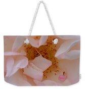 Faintly Pink - Rose Weekender Tote Bag