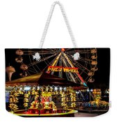 Fairground At Night Weekender Tote Bag