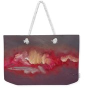 Fairground Ride Red Weekender Tote Bag