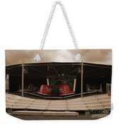 Fairground Waltzer In Sepia Weekender Tote Bag