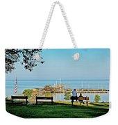 Fairhope Alabama Pier Weekender Tote Bag