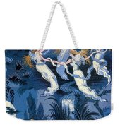 Fairies In The Moonlight French Textile Weekender Tote Bag