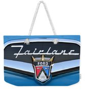 Fairlane Name Plate Weekender Tote Bag