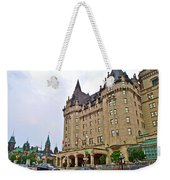 Fairmount Chateau Laurier East Of Parliament Hill In Ottawa-on Weekender Tote Bag