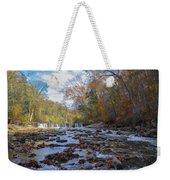 Fairmount Park - Wissahickon Creek In Autumn Weekender Tote Bag