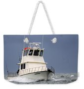 Fairwater II - Parting Waves In The Gulf Of Mexico Weekender Tote Bag