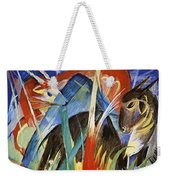Fairy Animals 1913 Weekender Tote Bag