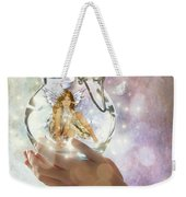 Fairy Weekender Tote Bag by Juli Scalzi