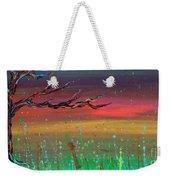 Fairy Moon Weekender Tote Bag