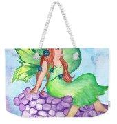 Fairy On Lilac Weekender Tote Bag