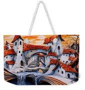 Fairy Tale City - Magic Stream Weekender Tote Bag