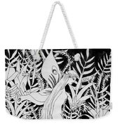 Fairy Walks In Flowers Weekender Tote Bag