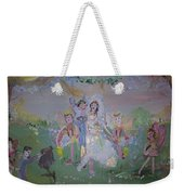 Fairy Wedding Weekender Tote Bag