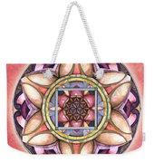 Faith Mandala Weekender Tote Bag