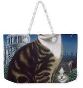 Faith, The St. Paul's Cat Weekender Tote Bag