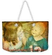 Faith Worth Sharing Weekender Tote Bag