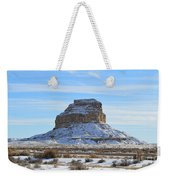 Fajada Butte In Snow Weekender Tote Bag