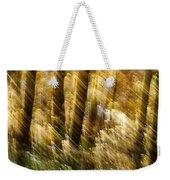 Fall Abstract Weekender Tote Bag by Steven Ralser