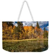 Fall Along Bishop Creek Weekender Tote Bag by Cat Connor