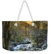 Fall Along Citico Creek Weekender Tote Bag