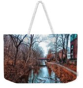 Fall Along The Delaware Canal Weekender Tote Bag