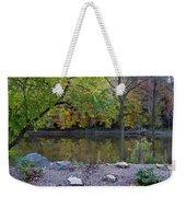 Fall Along The Scioto River Weekender Tote Bag