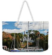 Fall And The Sailboats Weekender Tote Bag