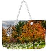 Fall Arlington National Cemetery  Weekender Tote Bag