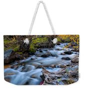 Fall At Big Pine Creek Weekender Tote Bag