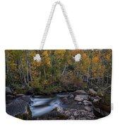 Fall At Bishop Creek Weekender Tote Bag