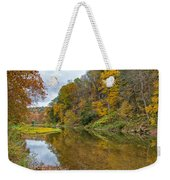Fall At Little Beaver Creek Weekender Tote Bag