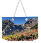 Fall At Mt. Timpanogos From Sundance - Utah  Weekender Tote Bag