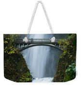 Fall At Multnomah Falls Weekender Tote Bag