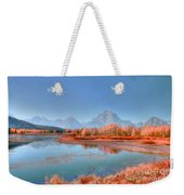 Fall At Oxbow Bend Weekender Tote Bag