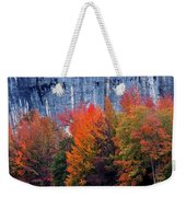 Fall At Steele Creek Weekender Tote Bag