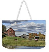 Fall At The Horse Farm Weekender Tote Bag