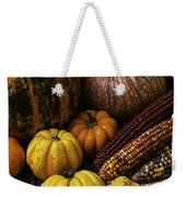 Fall Autumn Abundance Weekender Tote Bag
