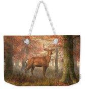 Fall Buck Weekender Tote Bag