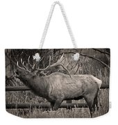 Fall Bugling Weekender Tote Bag