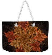 Fall Burst Weekender Tote Bag