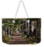 Fall Cedars Weekender Tote Bag