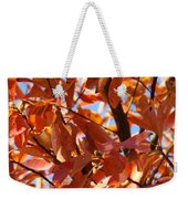 Fall Color 2 Weekender Tote Bag