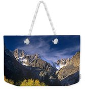 Fall Color Below Middle Palisades Glacier Eastern Sierras California Weekender Tote Bag