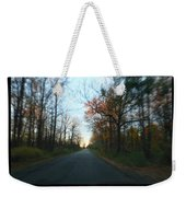 Fall Color Blur Weekender Tote Bag