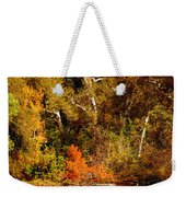 Fall Color Creekside Weekender Tote Bag