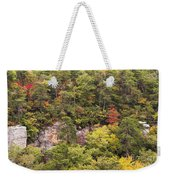 Fall Color In Little River Canyon Weekender Tote Bag